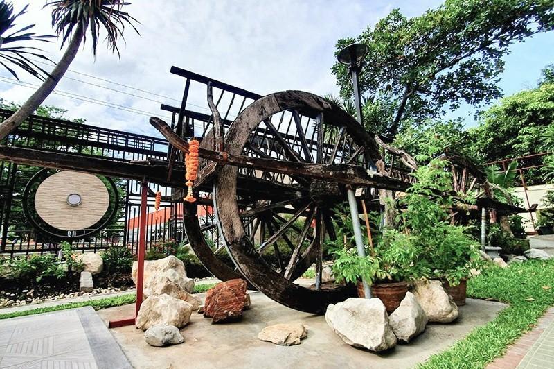 Alexander Hotel Bangkok : Ayutthaya Cart