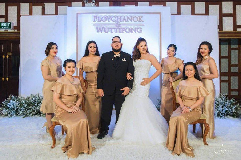 Alexander Hotel Bangkok : 婚礼