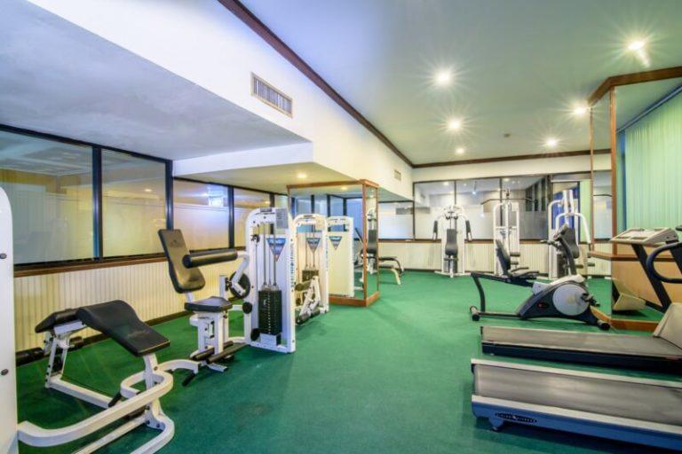 Alexander Hotel Bangkok : 健身和桑拿房