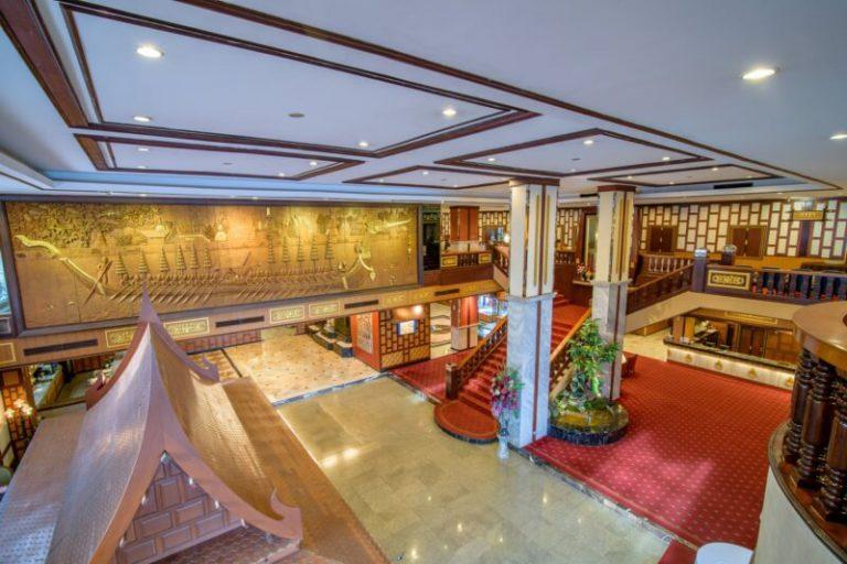 Alexander Hotel Bangkok : 大厅