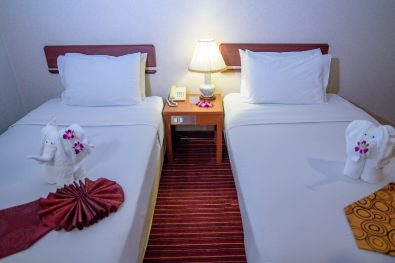 Alexander Hotel Bangkok : 标准间
