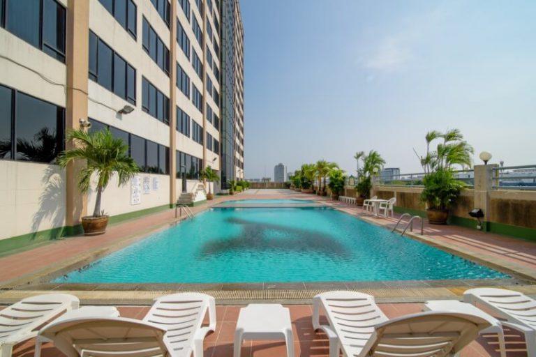 Alexander Hotel Bangkok : 游泳池